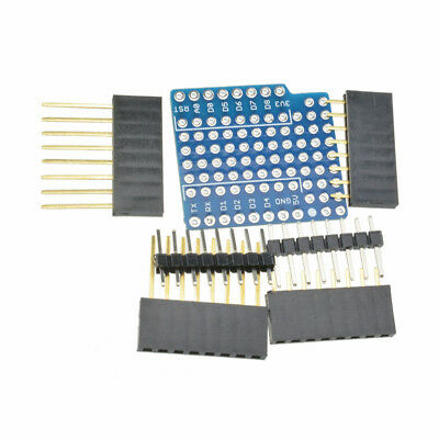 ProtoBoard Shield WeMos D1 Double Sided perf Board Compatible ATF 4