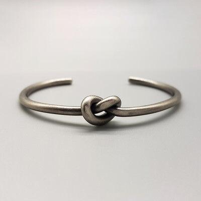 Bracciale uomo rigido nodo acciaio inossidabile da braccialetto in con inox 2