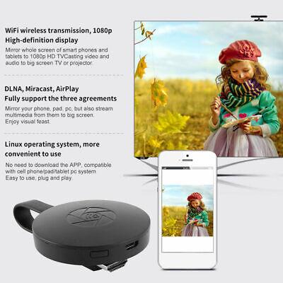 Chromecast Wireless Mirascreen Hdmi Display Dongle Media Video Streamer 2 12