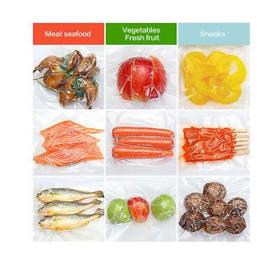 6 X 28Cm Vacuum Sealer Rolls Food Storage Saver Heat Seal Cryovac Commercial Bag 8
