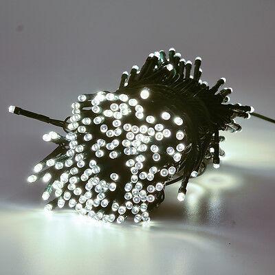 300 LED Solar Powered Fairy String Light Lamp Outdoor Garden Xmas Party