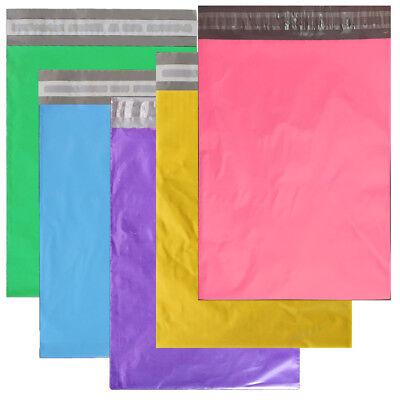 "14.5x19"", 12x15.5,10x13, 7.5x10 Poly Mailers Self Sealing Shipping Bag Envelopes 10"