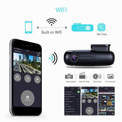 Blueskysea B1W 1080P Mini WiFi App IMX323 Dash Camera Capacitor Car DVR Vehicle 11