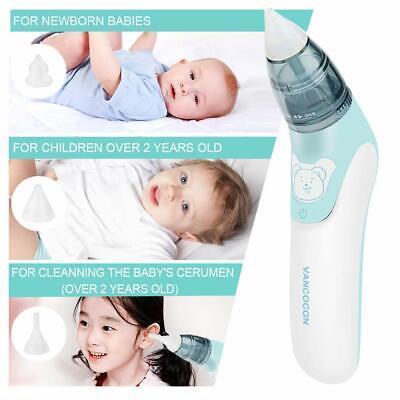 Bébé Nez Nettoyant Aspirateur Nasal Hygiénique pour Bébé Sécurité Électrique 4