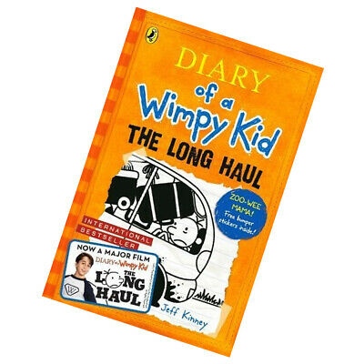 The Long Haul By Jeff Kinney Diary of a Wimpy Kid book and Children's book 2