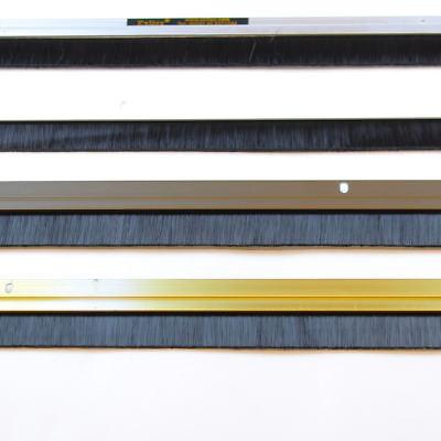 Door Draught Excluder Brush Strip Bar   25 mm Exitex Heat Seal Energy Savings 2