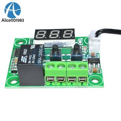 DC12V Red W1209 Digital thermostat Temperature Controler -50-110°C  + Sensor 7