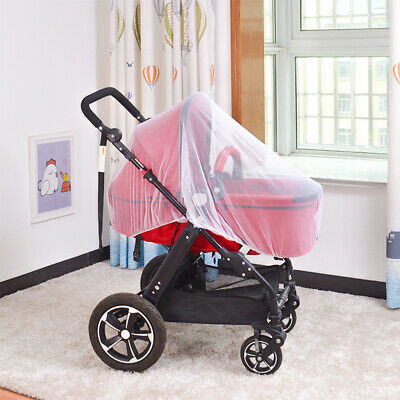 Universal Newborn Kids Stroller Pushchair Mosquito Fly Insect Net Mesh Cover Hot 4