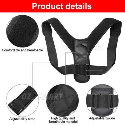 Posture Corrector Adjustable Men Women Shoulder Brace Back Support Strap Belt 5