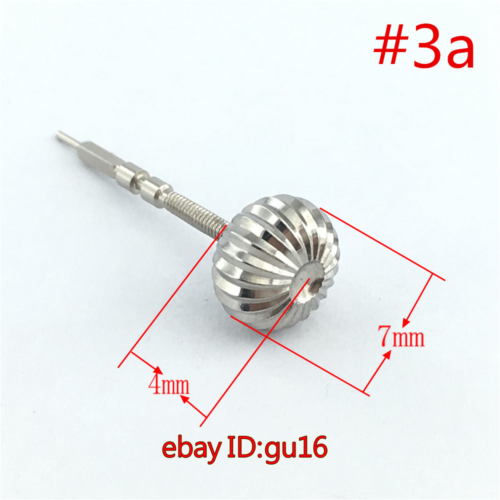 1pcs Stainless Steel Watch Crown fit eta 6497,6498 Seagull ST36 movement p217 6