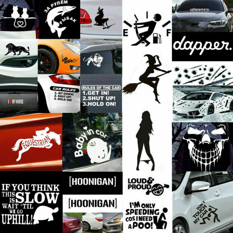 Car Auto Stickers Truck Boat Jeep Door Window Funny Vinyl Decal Decor Waterproof 2
