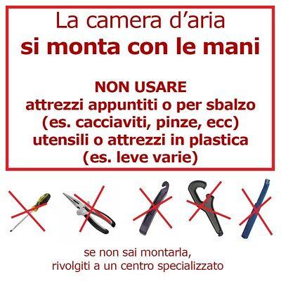 2 Copertoni + 2 Camere Bici Bicicletta City Nero City 28 X 1 5/8 3/8 700X35 2