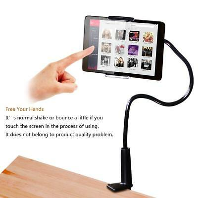 360°Rotating Tablet Stand Holder Lazy Bed Desk Mount iPad Air iPhone Samsung 4