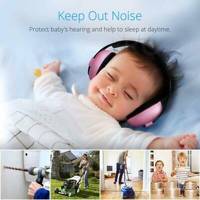 Child Baby Hearing Protection Safety Ear Muffs Kids Noise Cancelling Headphones 3