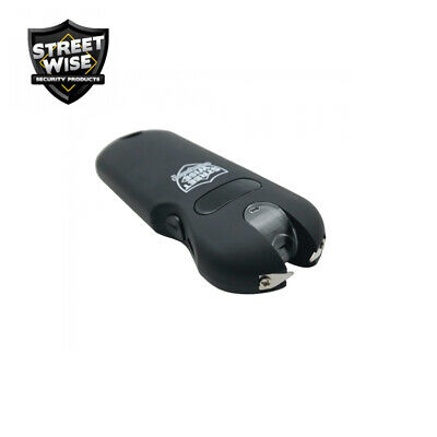 Streetwise SMART Keychain Stun Gun 24,000,000 w/Battery Status Indicator - Black 6