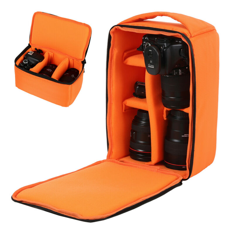 Camera DSLR Bag Backpack SLR Shoulder Soft Case Waterproof for Canon Nikon Sony 2