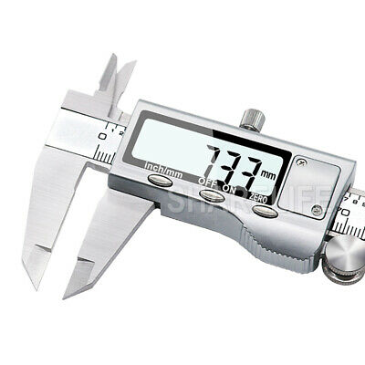 150/200/300mm Electronic Digital Vernier Caliper Stainless LCD Gauge with Case 8