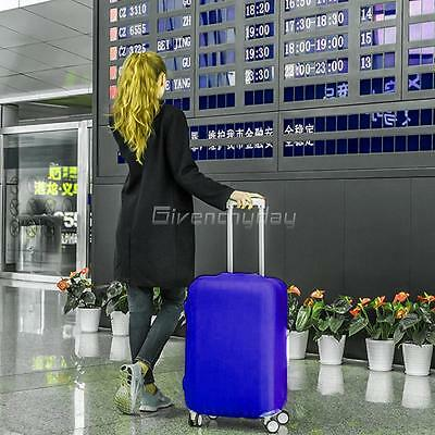 """20-28"""" Luggage Protector Elastic Colorful Cover Bags Dustproof Anti Scratch New 3"""