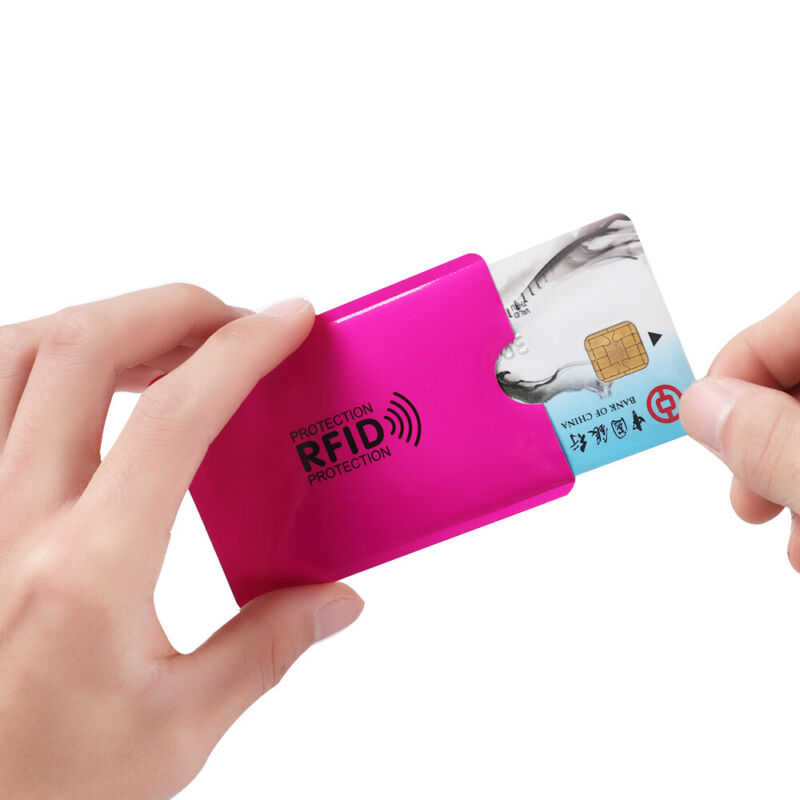 Credit Cards Card Holder Protect Case Cover RFID Blocking Sleeve Wallet 6