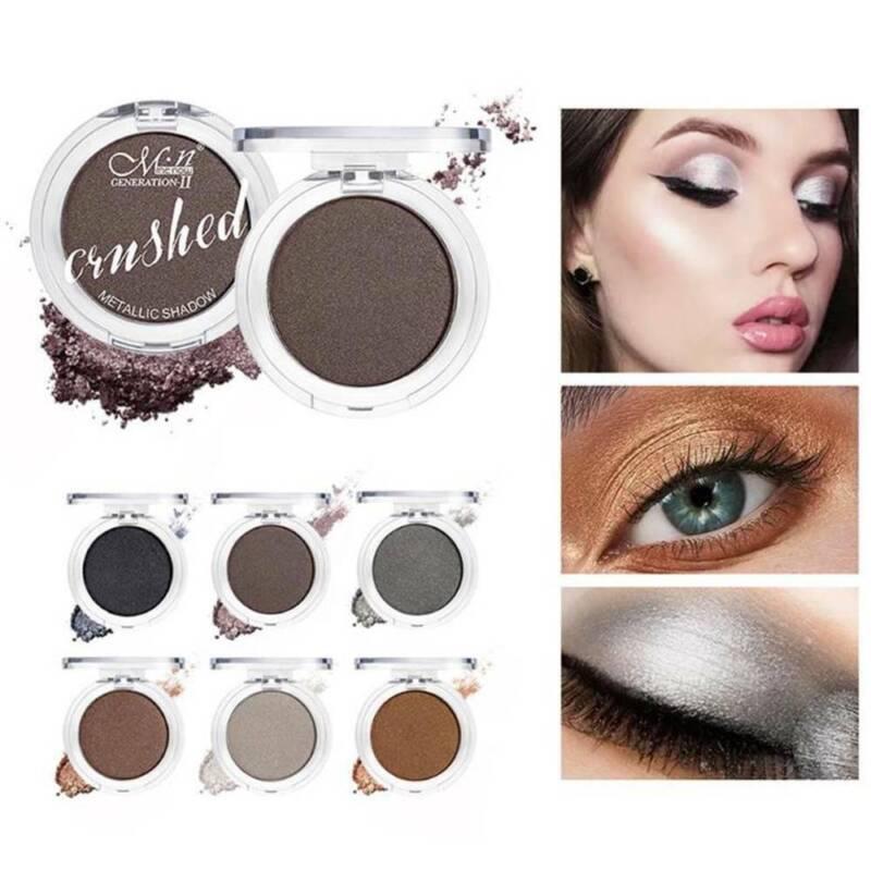 Glitter Eyeshadow Matte Shimmer Pigment Eye Shadow Pressed Metallic Shining Eyes 5