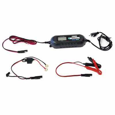 LODCHAMP 6V/12V-4A Batterieladegerät mit Erhaltungsladegerät  KFZ Auto LKW 2