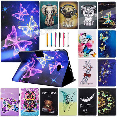"AU Leather Cover Case For Samsung Galaxy Tab A 7 8.0 10.1"" T355 T380 T580 Tablet"