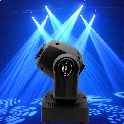 60W RGBW Stage Light LED Spot Moving Head Lights DMX Disco DJ Party Lighting 5