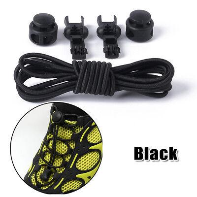 Shoe Laces Unsiex Adults Kids Elastic No Tie Locking Shoelaces Sports Sneaker AU 8