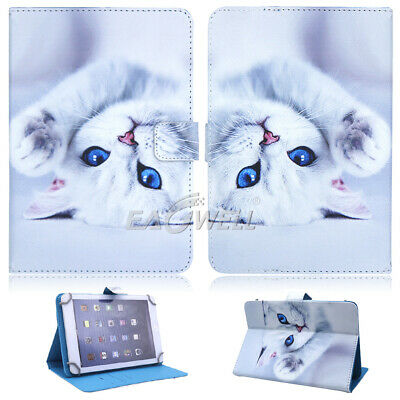 "For Apple iPad 2 3 4/Air/Mini/Pro 9.7"" 10.2"" Universal Leather Stand Case Cover 4"