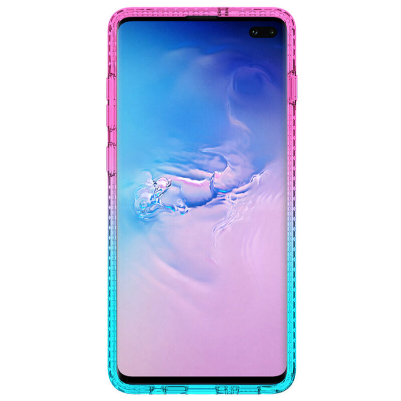 For Samsung Galaxy S9 S10 5G Plus + Note 9 10 Shockproof Cover Luxury Bling Case 3