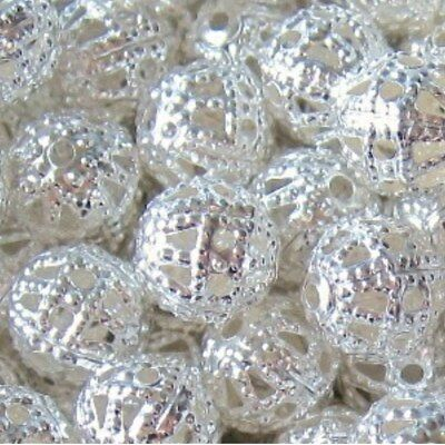 BUY 3 GET 3 FREE1000x 2mm 500x 3mm 400x 4mm 200x 6mm 100x 8mm Metal Spacer Beads 2