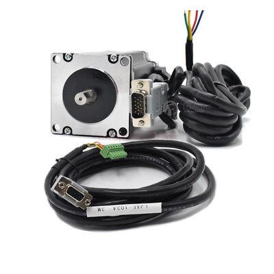 4Axis 3NM Closed Loop Stepper Drive Kit Nema23+CNC Controller+DC Power+Handwheel 8