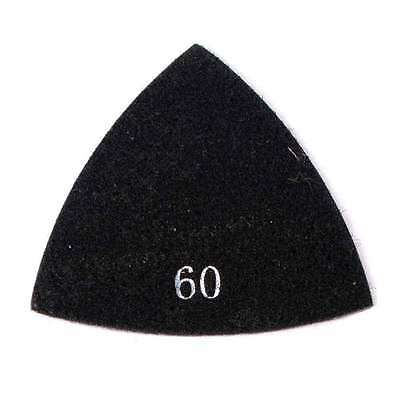 60 Grit Electroplated Diamond Triangular Polishing Pad For Oscillating Tools