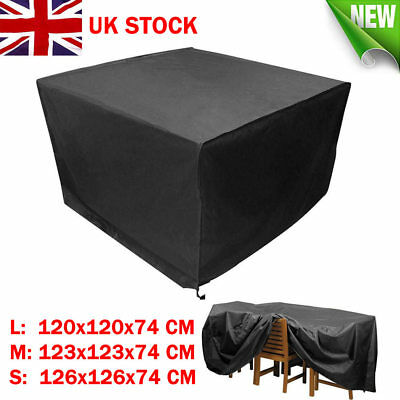 Waterproof Garden Patio Furniture Cover Covers Table Sofa Bench Cube Outdoor UK 3