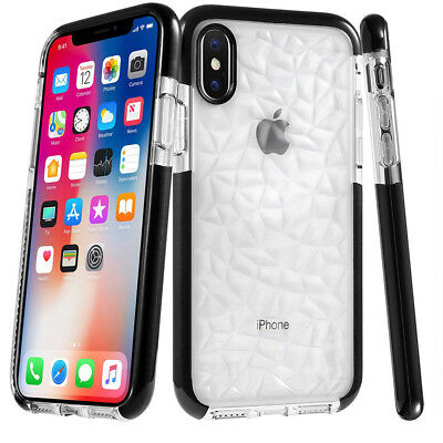 Coque IPhone XS,MAX,XR,X,8,7,6,6S Protection Gel + Film Vitre Verre Trempé Ecran 6