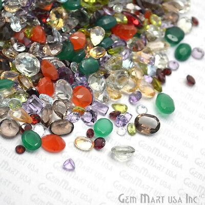 AAA Mixed Gems Semi Precious Loose Natural Gemstones Lots Faceted Cut (MX-60003) 9