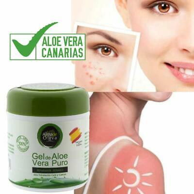 Gel Aloe vera puro 100% de Canarias hidratante natural 500 ml 6