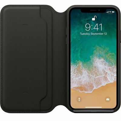 Genuine Leather Folio Flip Wallet Case Cover For Apple iPhone XR XS 6S 7 8 Plus 2