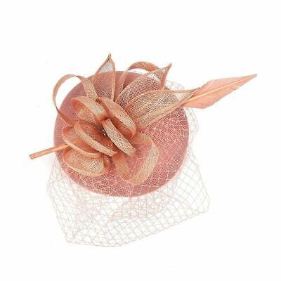 New Large Headband Aliceband Hat Fascinator Wedding Ladies Day Races Royal Ascot 10