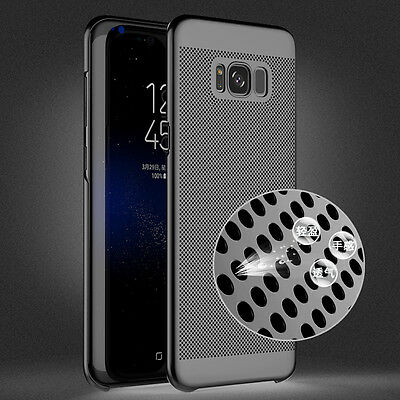 For Samsung Galaxy S8 Plus/S7 Hard Case Thin Shockproof Hybrid Phone Cover Skin 7