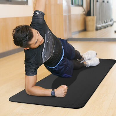 PHAT® 1/2-Inch Extra Thick Exercise Mat with Carrying Strap, Black 7