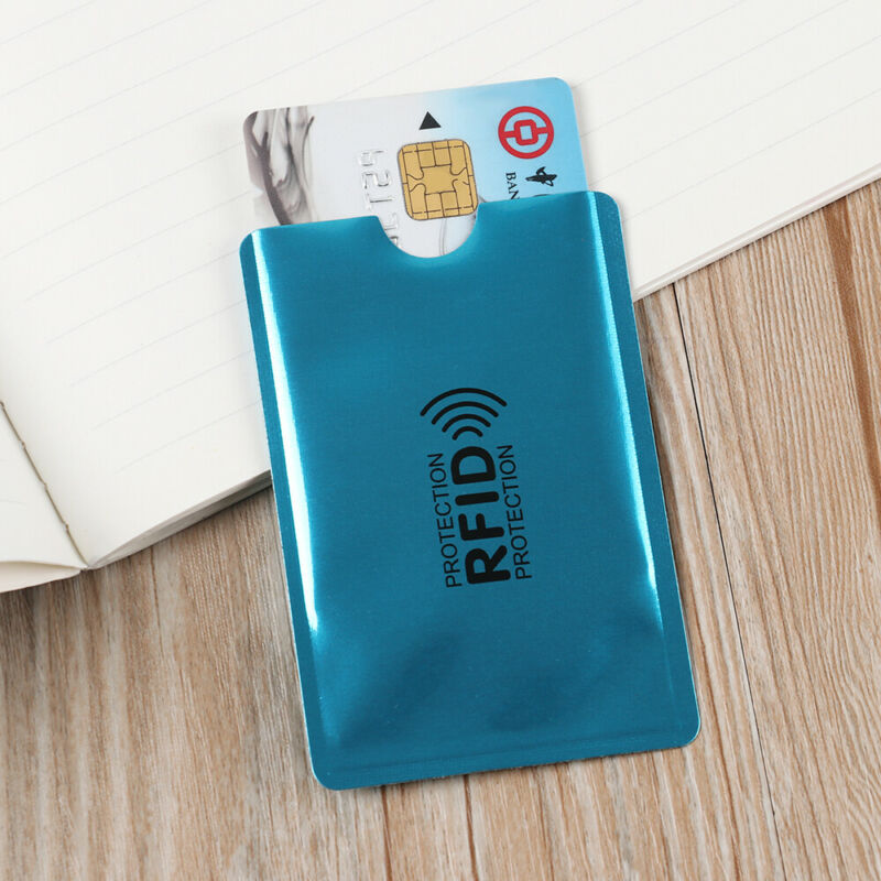Credit Cards Card Holder Protect Case Cover RFID Blocking Sleeve Wallet 8