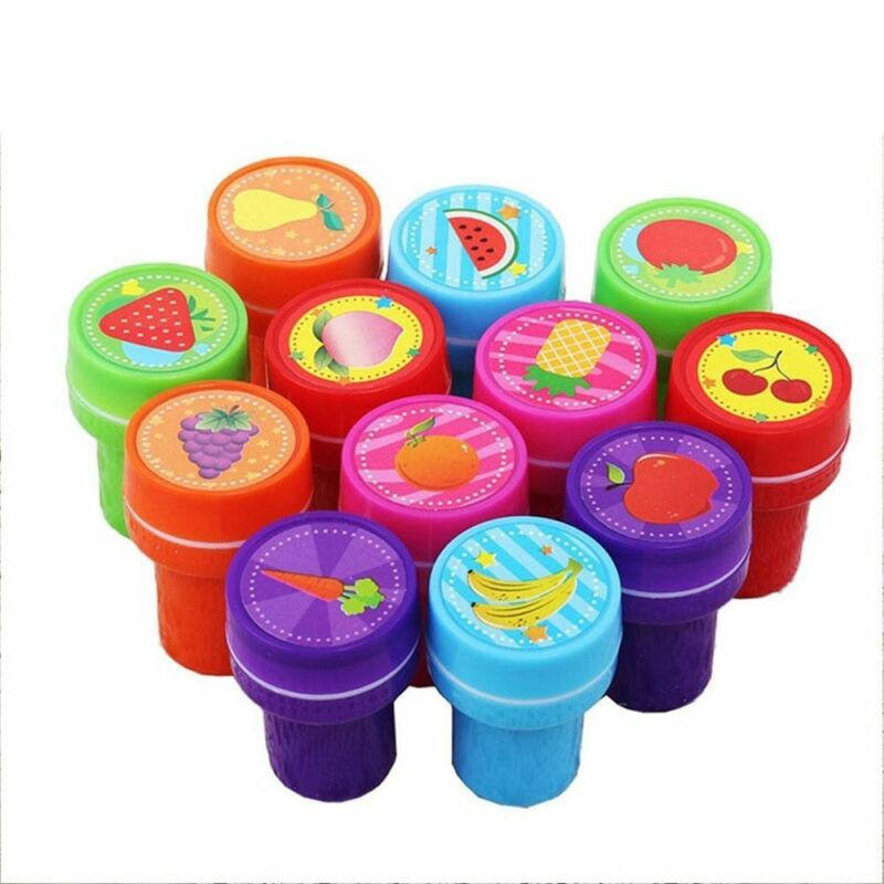 3 Of 10 Lot 10PCS Self Ink Rubber Stamps Kids Party Event Supplies Birthday Gift Toy Boy