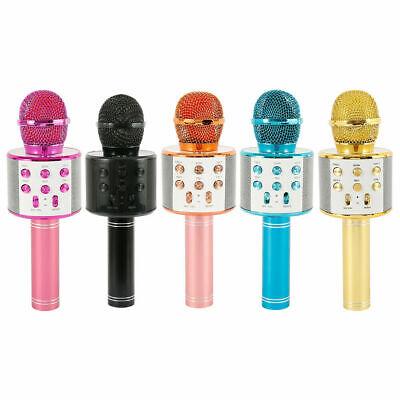 Microfono Altoparlante Bluetooth Wireless Con Speaker Karaoke Novita 7