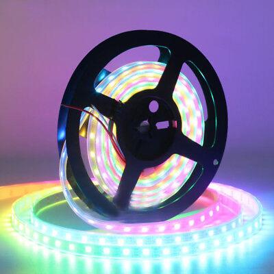 WS2812B Strip LED Lights 5050 RGB 30/60/144 LED/M IC Individual Addressable DC5V 2