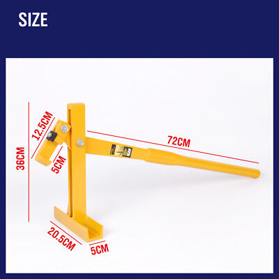 Fence Post Lifter Puller Star Picket Remover Steel Pole Fencing Farming Tool New 7
