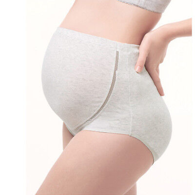 Pregnancy Maternity Underwear comfy Brief Panties Cotton Over Bump Support Tummy 8