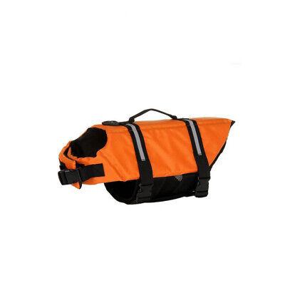 USA Pet Safety Vest Dog Life Jacket Reflective Stripe Preserver Puppy Swimming 6