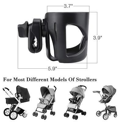Stroller Cup Holder Pushchair/Pram Cup Holder Baby Bottle Coffee Cup Organizer 2