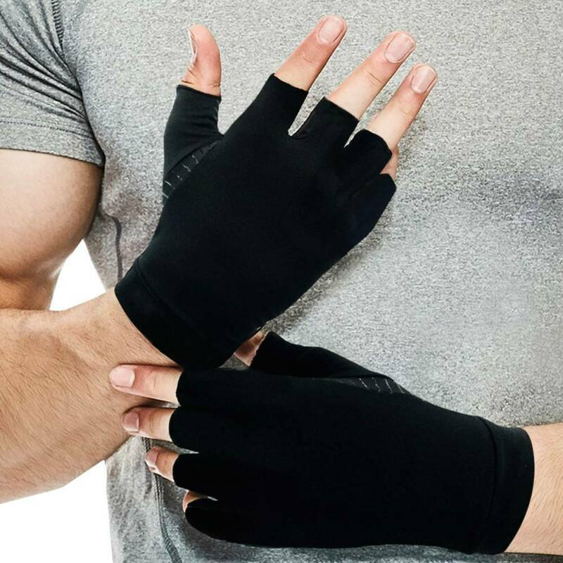 Arthritis Gloves Compression Support Hands Pain Copper Sleeve Carpal Tunnel Grip 10
